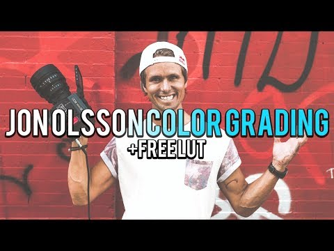 FREE Jon Olsson Inspired Color Grading LUT!