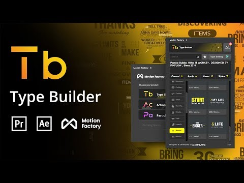 Text Animation & Kinetic Typography For After Effects And Premiere Pro | TypoKing