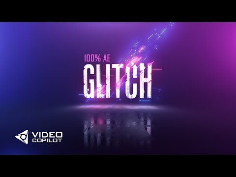 Colorful Glitch FX Tutorial! 100% After Effects!