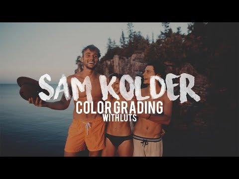 Sam Kolder Color Grading LUT PACK!