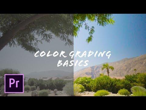 Color Correcting BASICS [Adobe Premiere Pro CC tutorial]