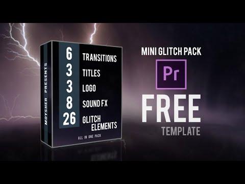 Mini Glitch Pack Free Premiere Pro Templates