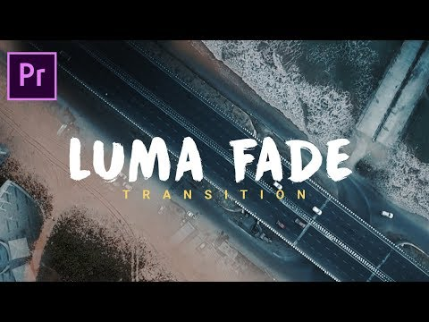 LUMA FADE Transition Preset pack in Adobe Premiere Pro (Sam kolder style)