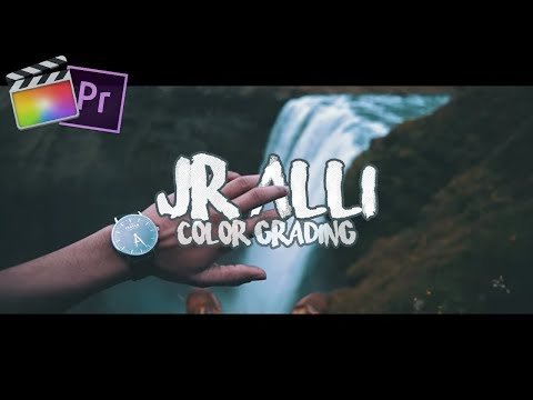 Cinematic Travel Color Grading like JR Alli +LUT