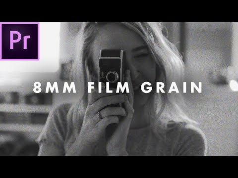 FREE 8mm Film Grain Overlay (High quality)   How to