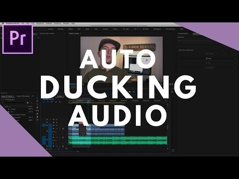 Auto Ducking Audio in Premiere Pro