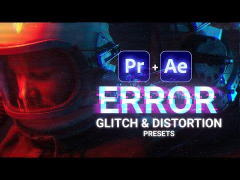 ERROR - Free Glitch & Distortion Presets for Premiere Pro   Cinecom.net