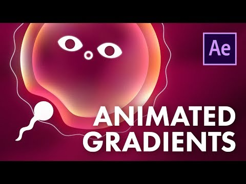 Animated Gradients in After Effects Tutorial - Quick, Easy and Effective