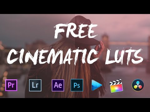 10 FREE CINEMATIC LUTS ( PREMIERE PRO, FINAL CUT PRO, AFTER EFFECT ETC...)
