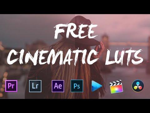 10 FREE CINEMATIC LUTS ( PREMIERE PRO, FINAL CUT PRO, AFTER EFFECT ETC...)