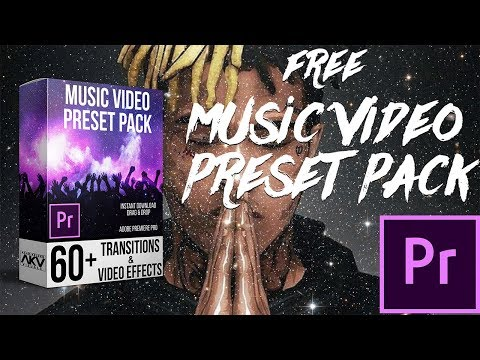 FREE MUSIC VIDEO TRANSITION PACK | ADOBE PREMIERE PRO CC 2018
