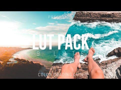 9 Cinematic LUTs Pack   Premiere Pro, Final Cut Pro, ect.