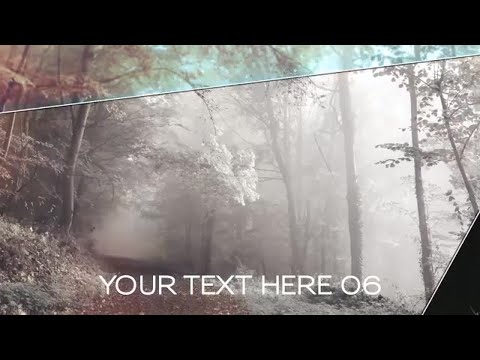 Free Elegant Slideshow After Effects Templates