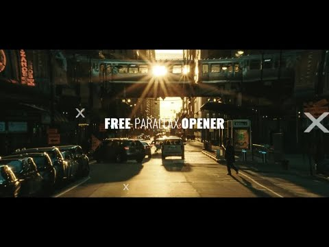 Free Parallax Opener After Effects Templates