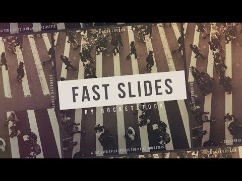 Fast Titles: Free After Effects Template