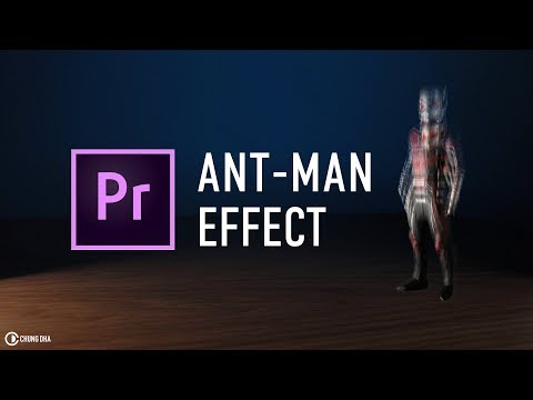 Ant-Man shrinking effect Adobe Premiere Pro tutorial by Chung Dha