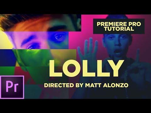 Matt Alonzo Color Glitch Transition: Premiere Pro Tutorial