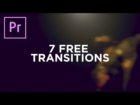 7 FREE Premiere Pro CC Transitions (Transition Pack 1)