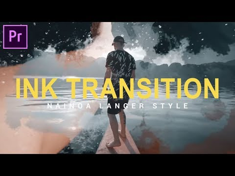 How to create INK Transition(Nainoa Langer Style) in Adobe Premiere Pro